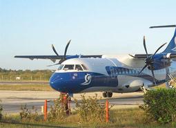 Aerogaviota Airline. Flights between Jamaica and Cuba