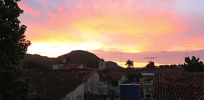 Sunrise over Habana