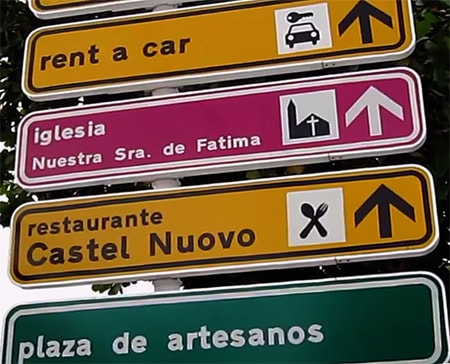 Downtown Havana street signs